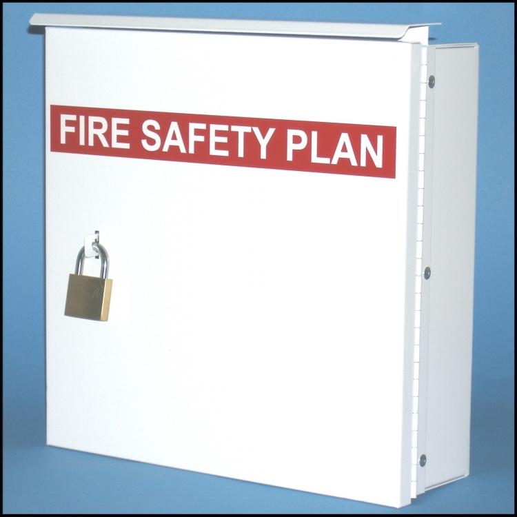 Pad Lock Fire Safety Plan Box-1