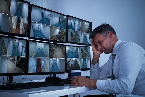 Sleeping on the Job: HD video analytics helps prevent security guard